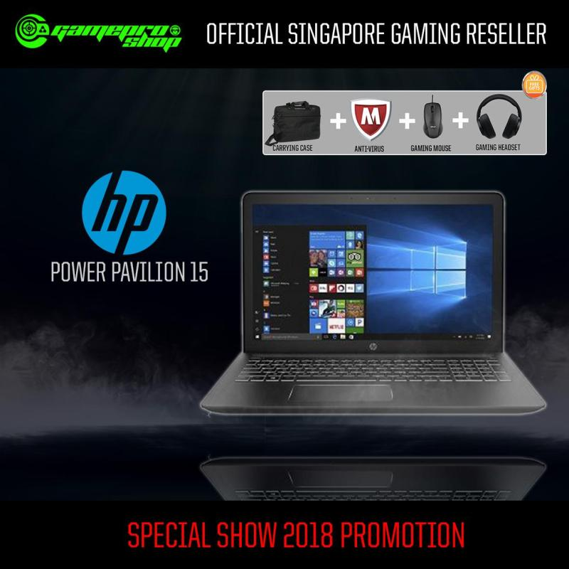 HP Pavilion Power 15- cb093tx (I7-7700HQ/16GB/256GB SSD+1TB HDD/NVIDIA GTX1050 4GB /15.6FHD /W10) *PC SHOW*