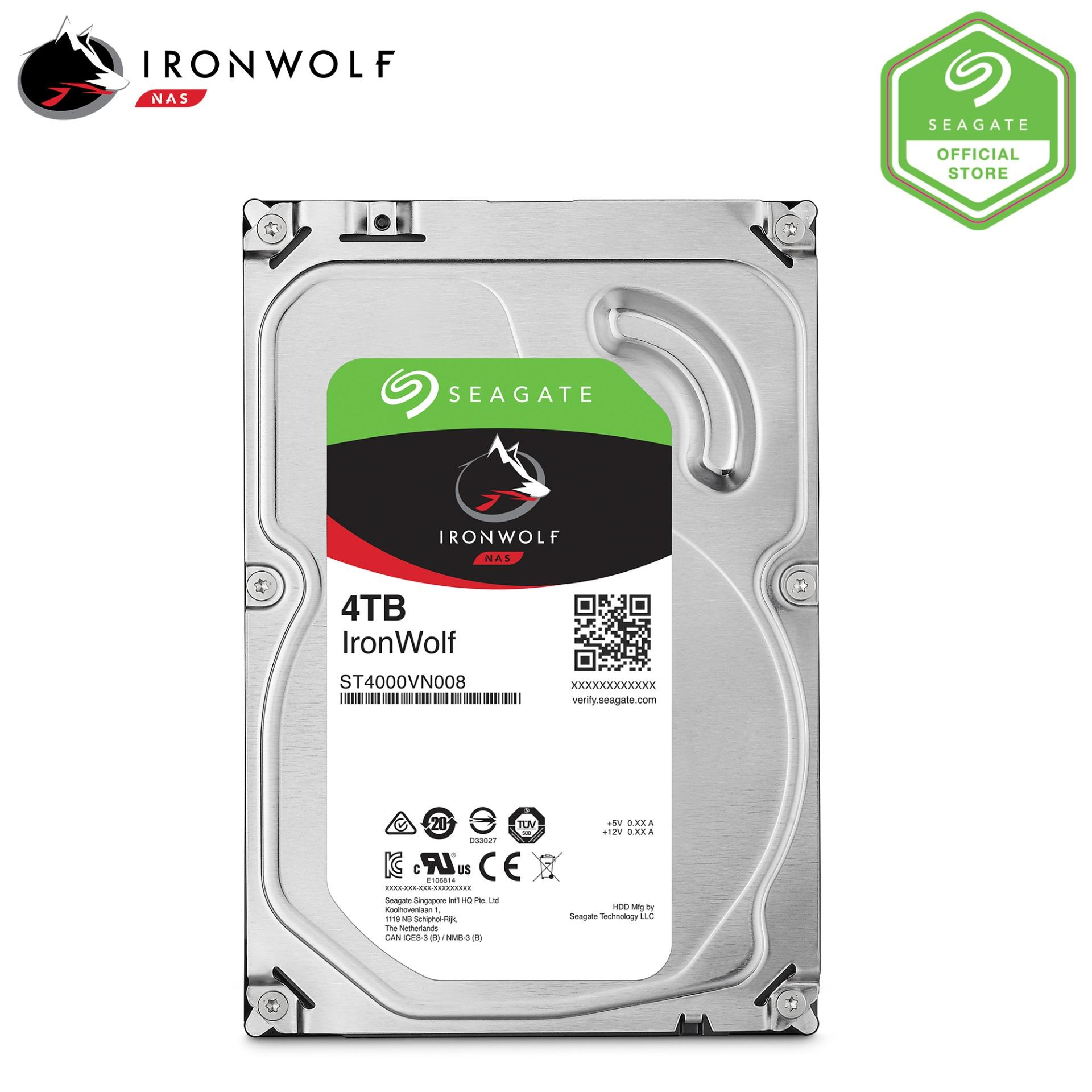Sale Seagate Ironwolf Nas 4Tb 3 5 Hard Disk Seagate Branded