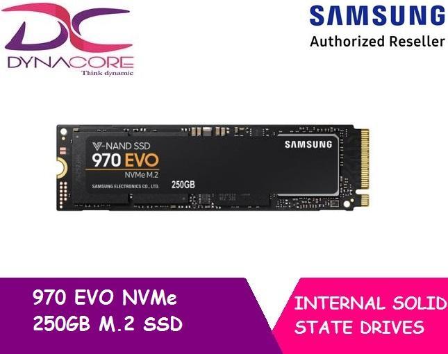 SAMSUNG 970 EVO M 2 SSD 250GB NVMe MZ-V7E250BW Singapore
