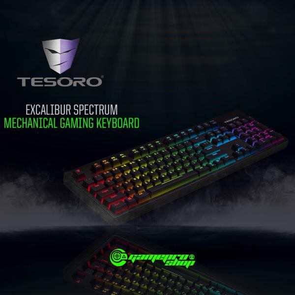 TESORO EXCALIBUR SPECTRUM MECHANICAL BLK GAMING KEYBOARD Singapore