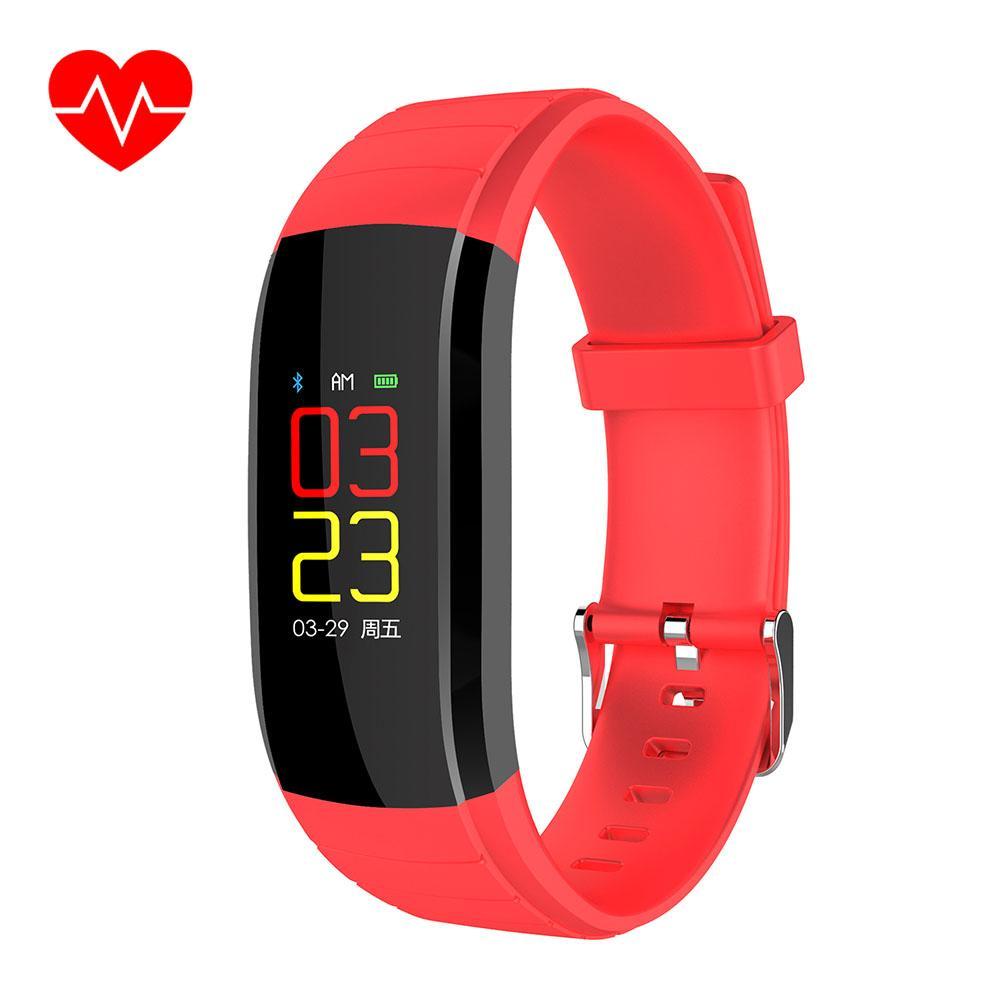 ลูกบาศก์มายากลนาฬิกาวัดก้าวเดินอัจฉริยะ Ip67 กันน้ำสายรัดข้อมือฟิตเนส Hang Up Call Reminder นาฬิกาข้อมือสมาร์ทวอช.