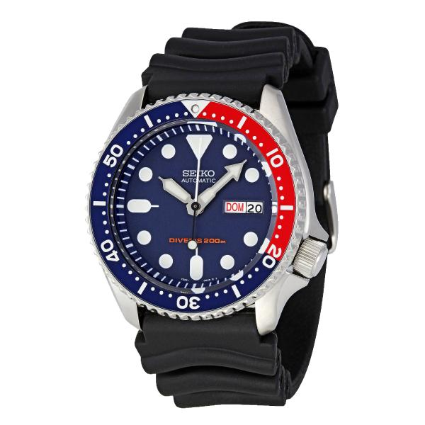 Who Sells Seiko Automatic Diver Men S Black Resin Strap Watch Skx009K1 Cheap