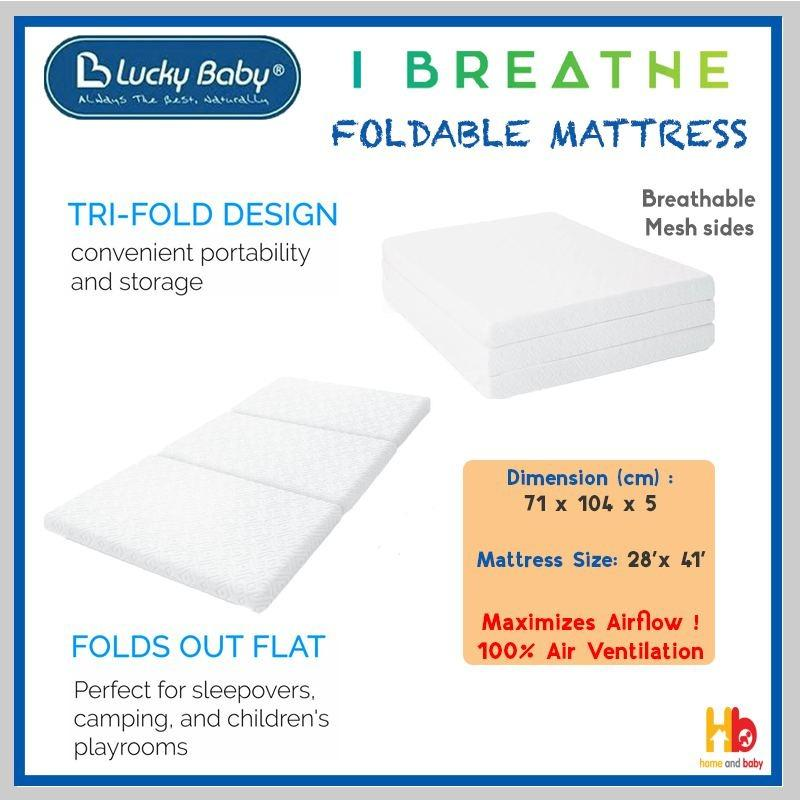 Lucky Baby i Breathe Foldable Mattress