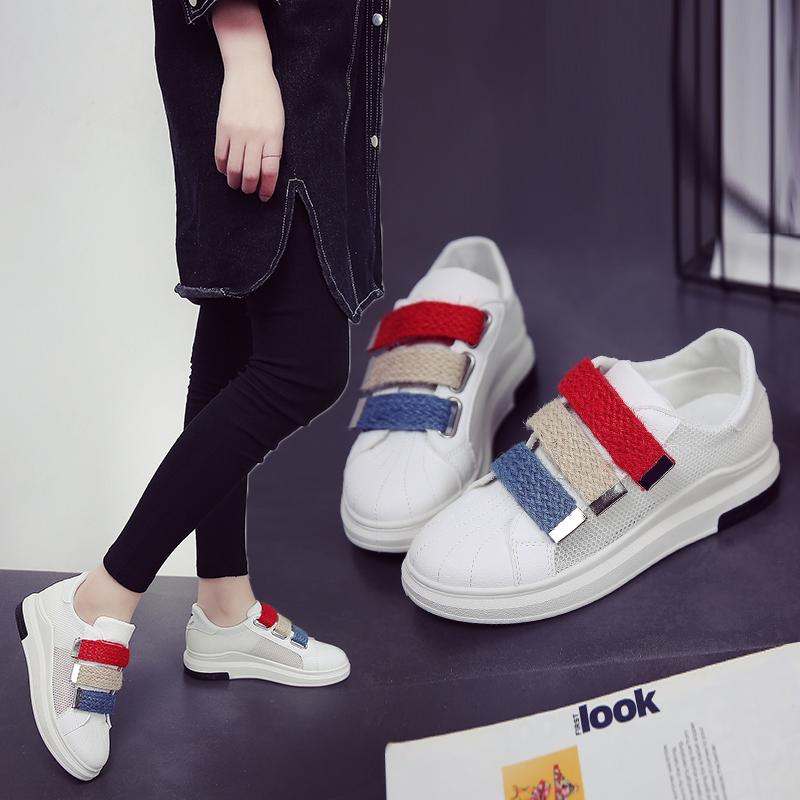 Top 10 Shell Toe Punched Sheet Summer Female New Style Shoes Sneakers