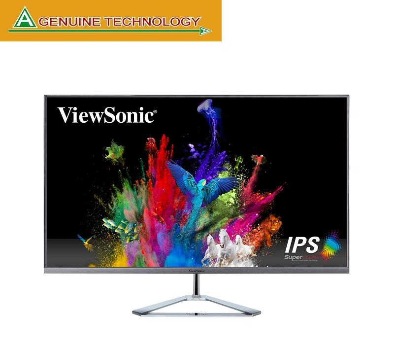 Viewsonic VX3276-2K-mhd 32 (31.5 viewable) WQHD SuperClear® IPS Monitor with a Stylish Ultra-Slim Frameless Design