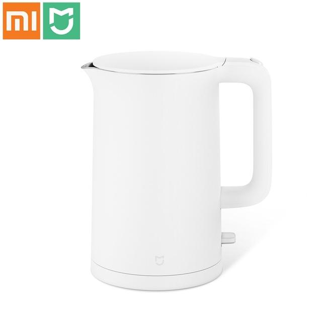 Price Newest Xiaomi Mijia Kettle 1 5L Xiaomi Kettle Xiaomi Mijia Electric Kettle 304 Stainless Steel Safe Clean Boiled Water Mi Kettle Xiaomi Singapore