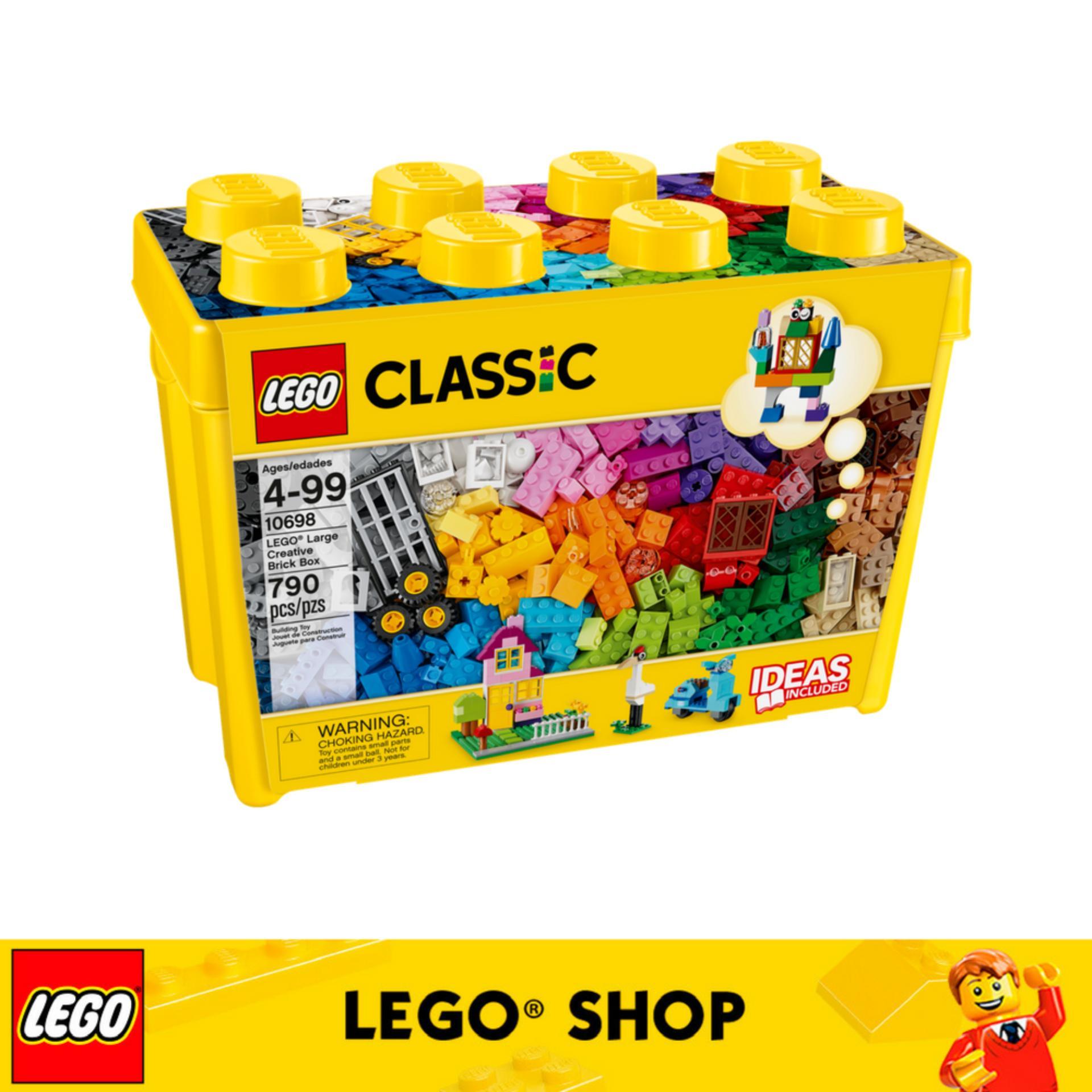 Compare Lego® Lego Classic Lego® Large Creative Brick Box 10698 Prices