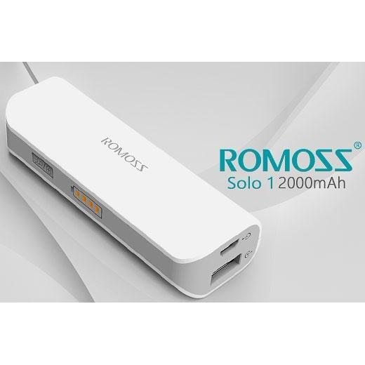 Get Cheap Romoss Power Bank 2000Mah Buy 1 Get 1 With Led Flashlight