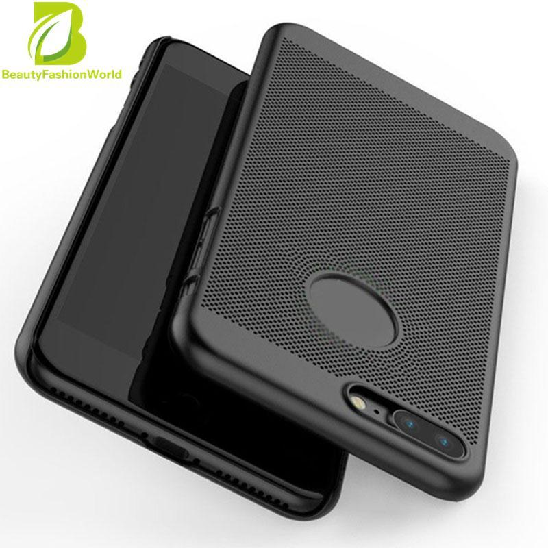 Luxury Breathable Anti Fingerprint Cover Skin Protector For iPhone 7 Plus - intl