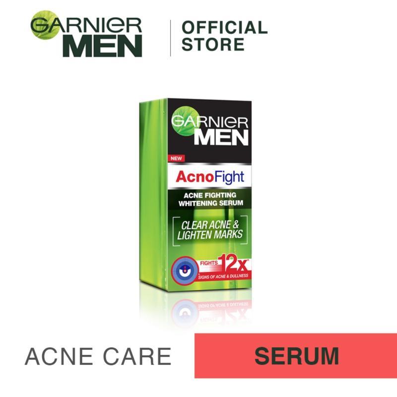 Buy Garnier Men Acno Fight Acne-Fighting Whitening Serum 40ml Singapore