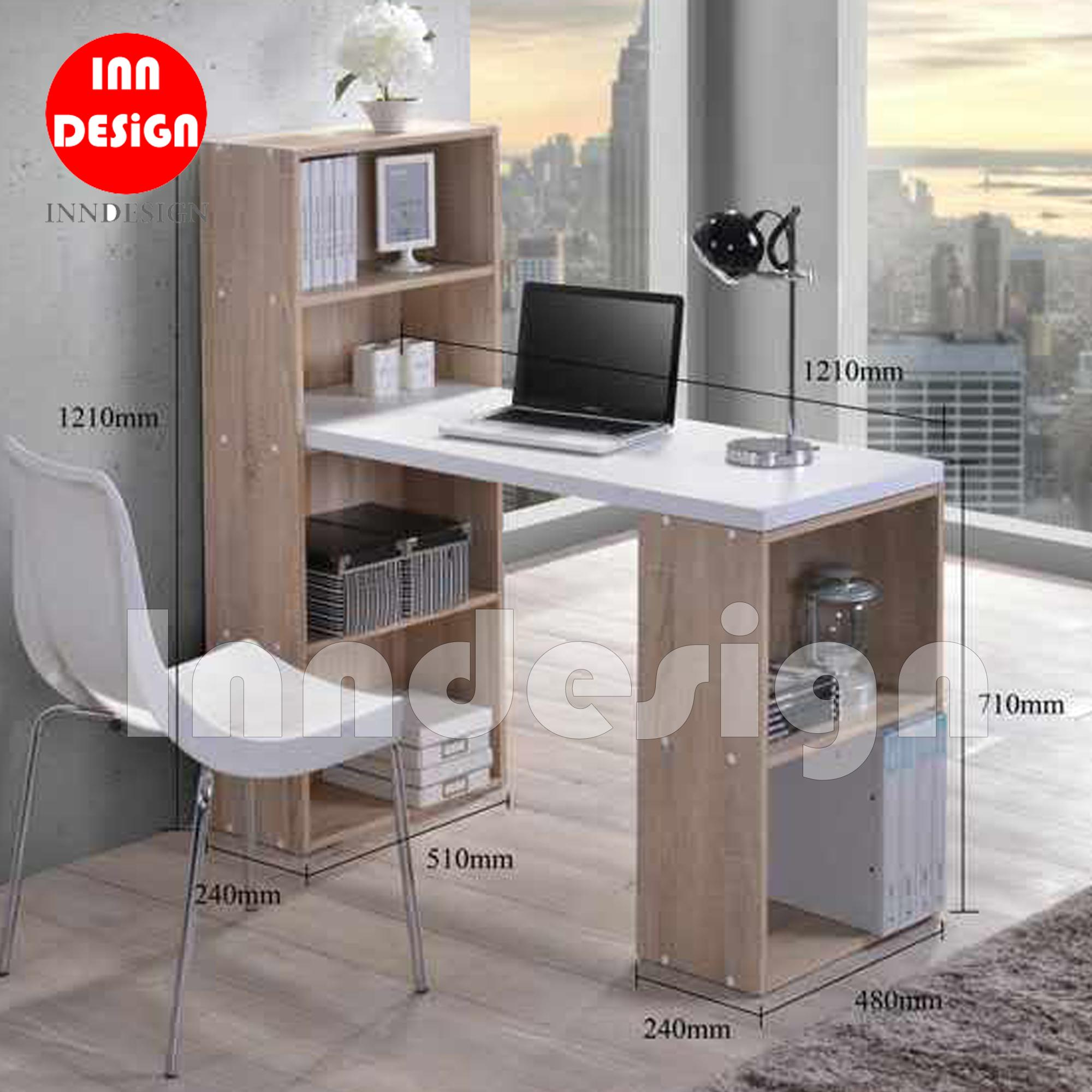Everly L Shape Study Table Office Desk