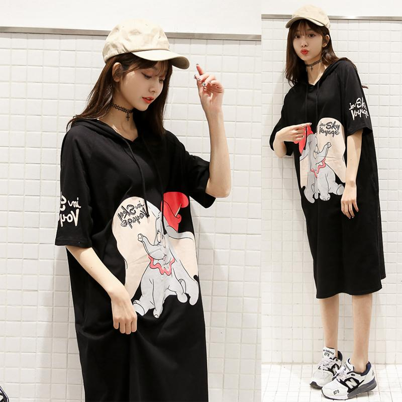 Sale Mm Spring Summer New Style Hooded Elephant Short Sleeved Dress China