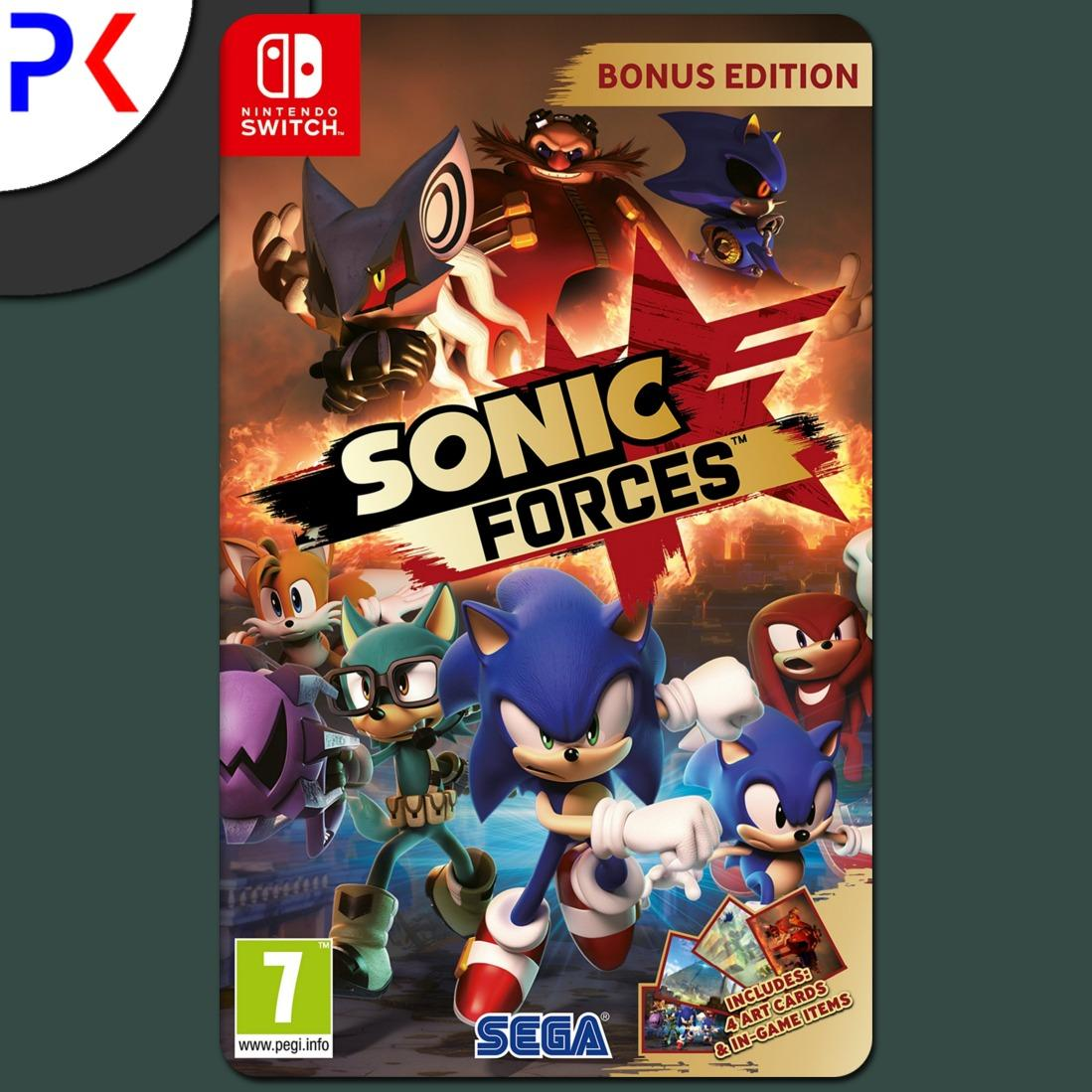 Buying Nintendo Switch Sonic Forces Bonus Edition Us