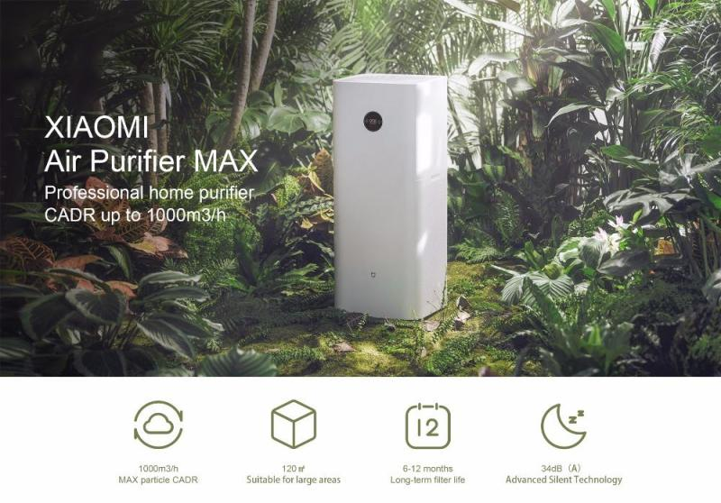 Xiaomi Home Air Purifier Max latest model Singapore