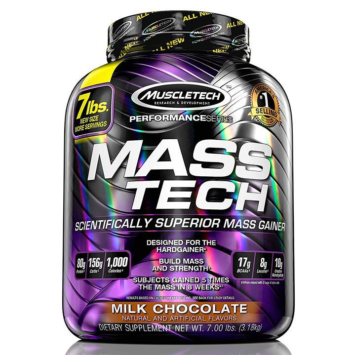 MuscleTech Performance Series MassTech (7lbs) - Chocolate