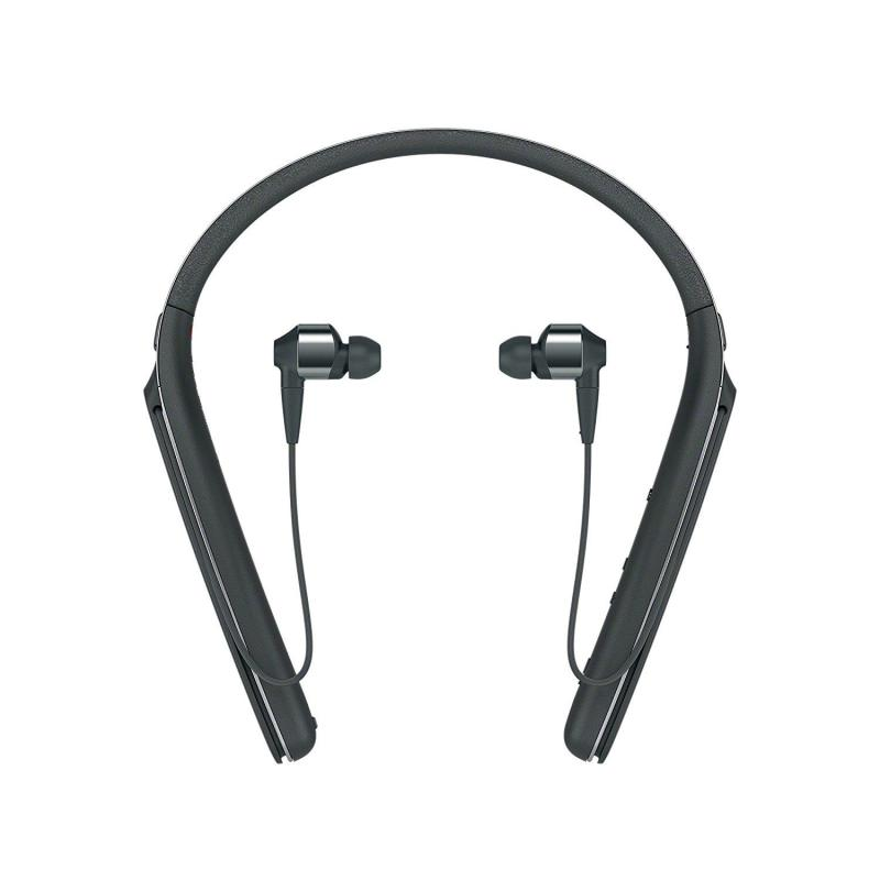 Sony WI-1000X Premium Noise Cancelling Wireless Behind-Neck In Ear Headphones - Black (WI1000X/B) Singapore