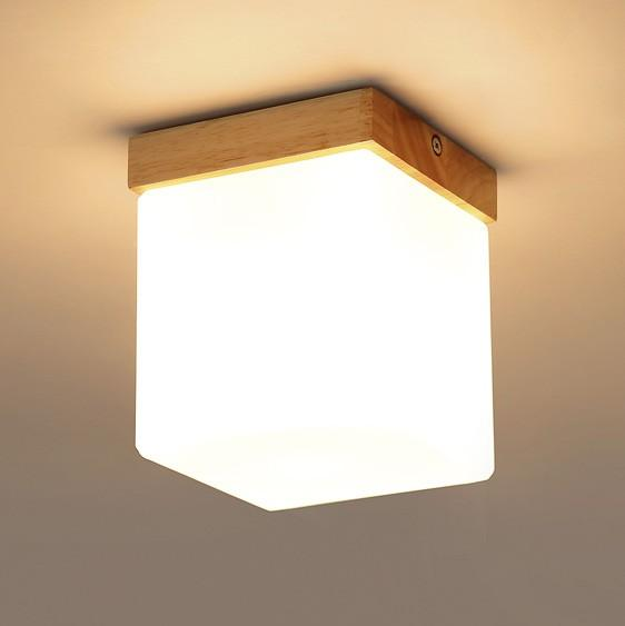 Wood Ceiling Light