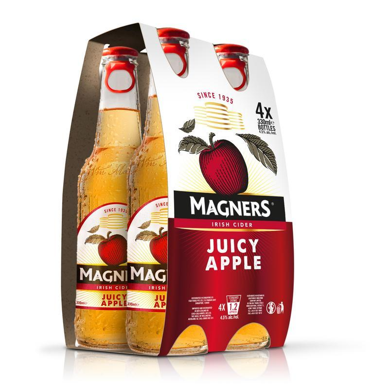 How Do I Get Magners Magners Juicy Apple 4S X 330Ml