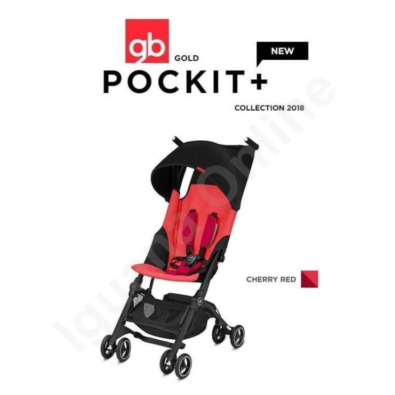 gb Pockit + 2018 Cherry Red Singapore