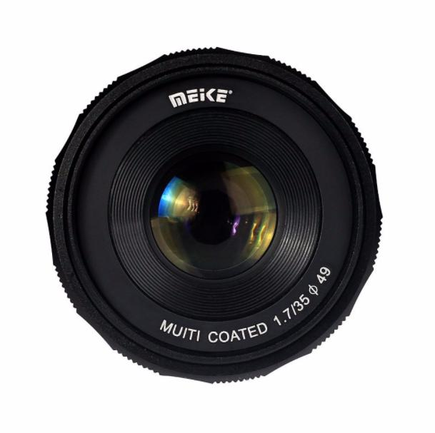Meike 35Mm F1 7 Manual Focus Fixed Lens For Sony E Mount Digital Cameras Deal
