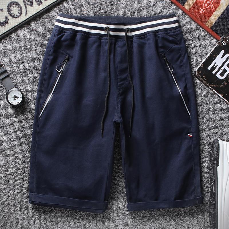 Trendi Celana Sedang Pria Baru Celana Pendek Laki-laki Korea Fashion Style Muda