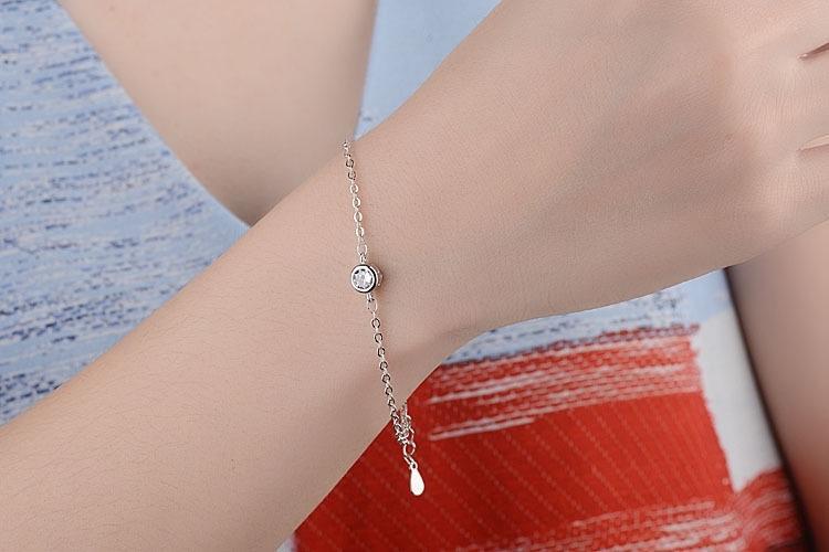 【Merah muda】Departemen Manis Asli Pan Jiafeng Borgol Lady Millet Pearl Natural Crystal Beaded Gelang Vintage Leaf Bracelet