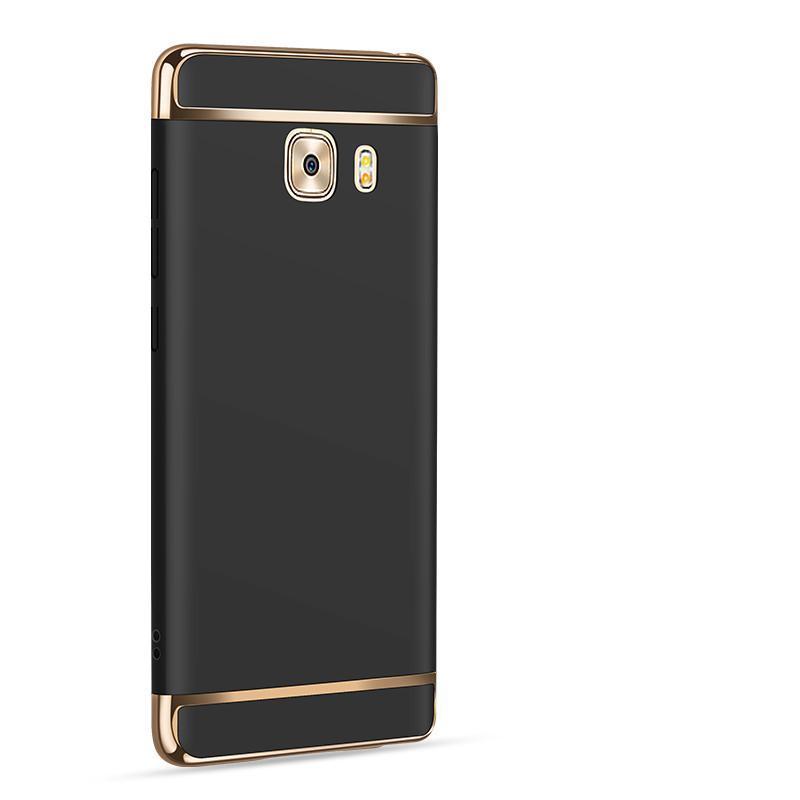 Detail Gambar Galaxy C9 Mewah Menyepuh Dgn Listrik Shockproof Kembali Casing Kover untuk Samsung Galaxy C9 Case Keras Rumahan Telepon Terbaru