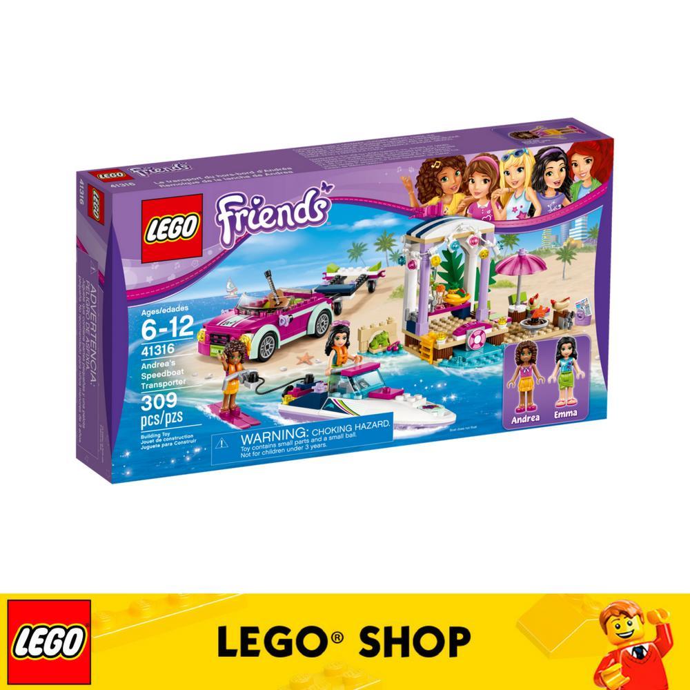 Sale Lego® Lego Friends Andrea S Speedboat Transporter 41316
