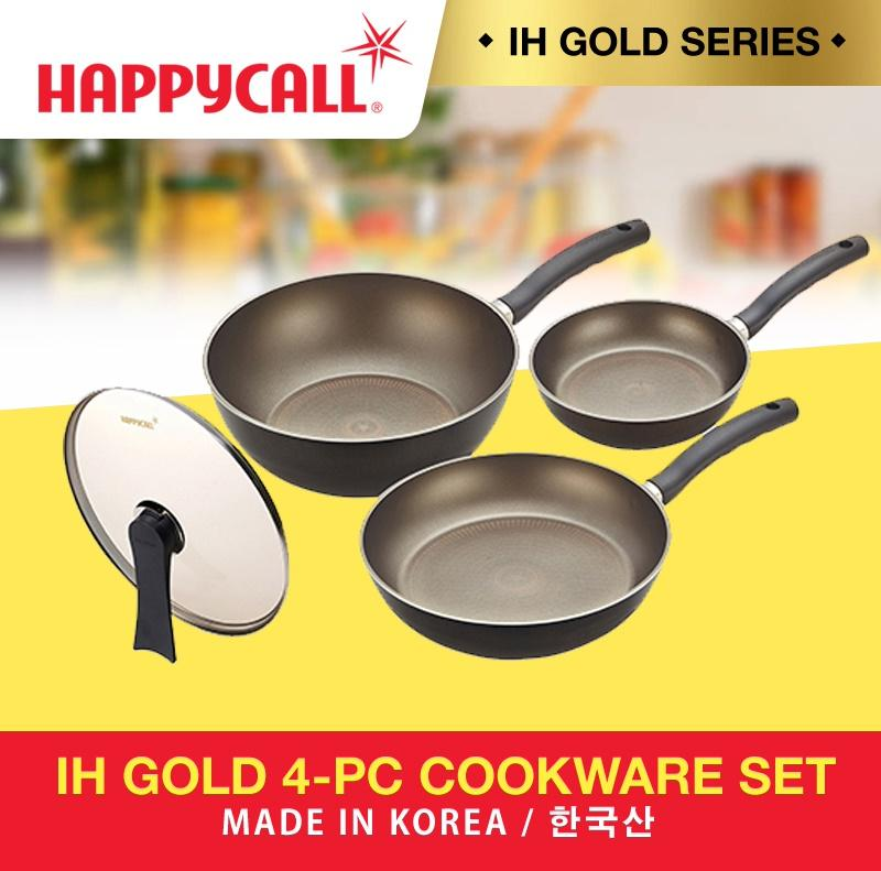 Happycall Ih Gold Series 4-Pc Cookware Set By Shop Shop Shop.