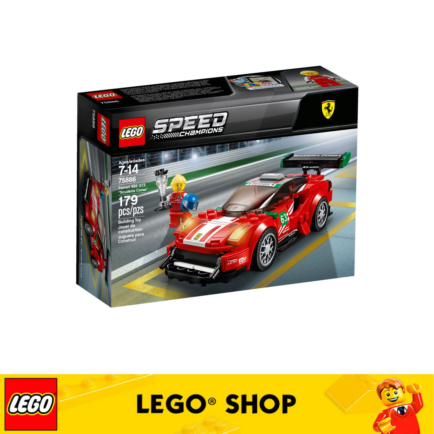How To Get Lego® Speed Champions Ferrari 488 Gt3 Scuderia Corsa 75886