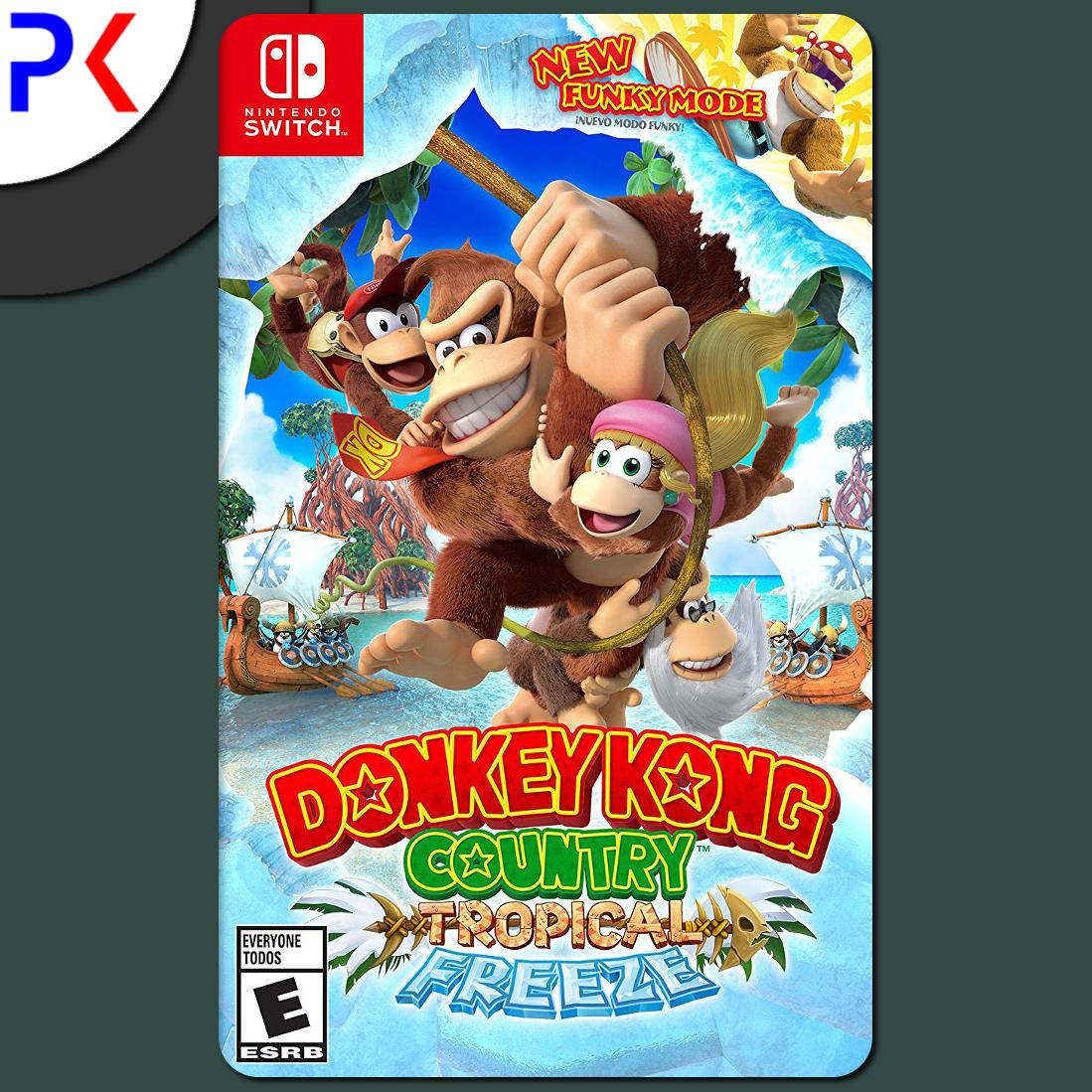 Nintendo Switch Donkey Kong Country Tropical Freeze Price Comparison
