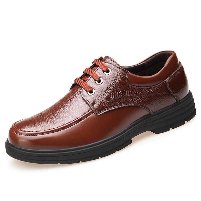 Fashion Leather Autumn New Han Ban Xie Casual Shoes Price Comparison
