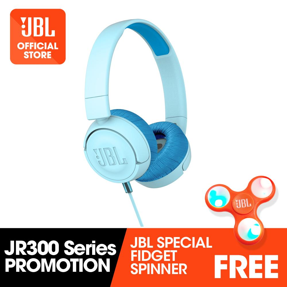 Sale Jbl Jr300 Kids On Ear Headphones Blue