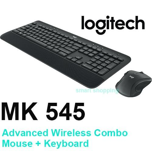 Logitech MK545 Advanced Wireless Keyboard and Mouse Combo with 3 Years Warranty