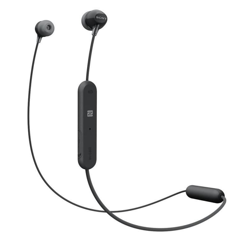 Sony WI-C300 (1 Year Warranty) In-Ear Bluetooth Earphone - Black Singapore