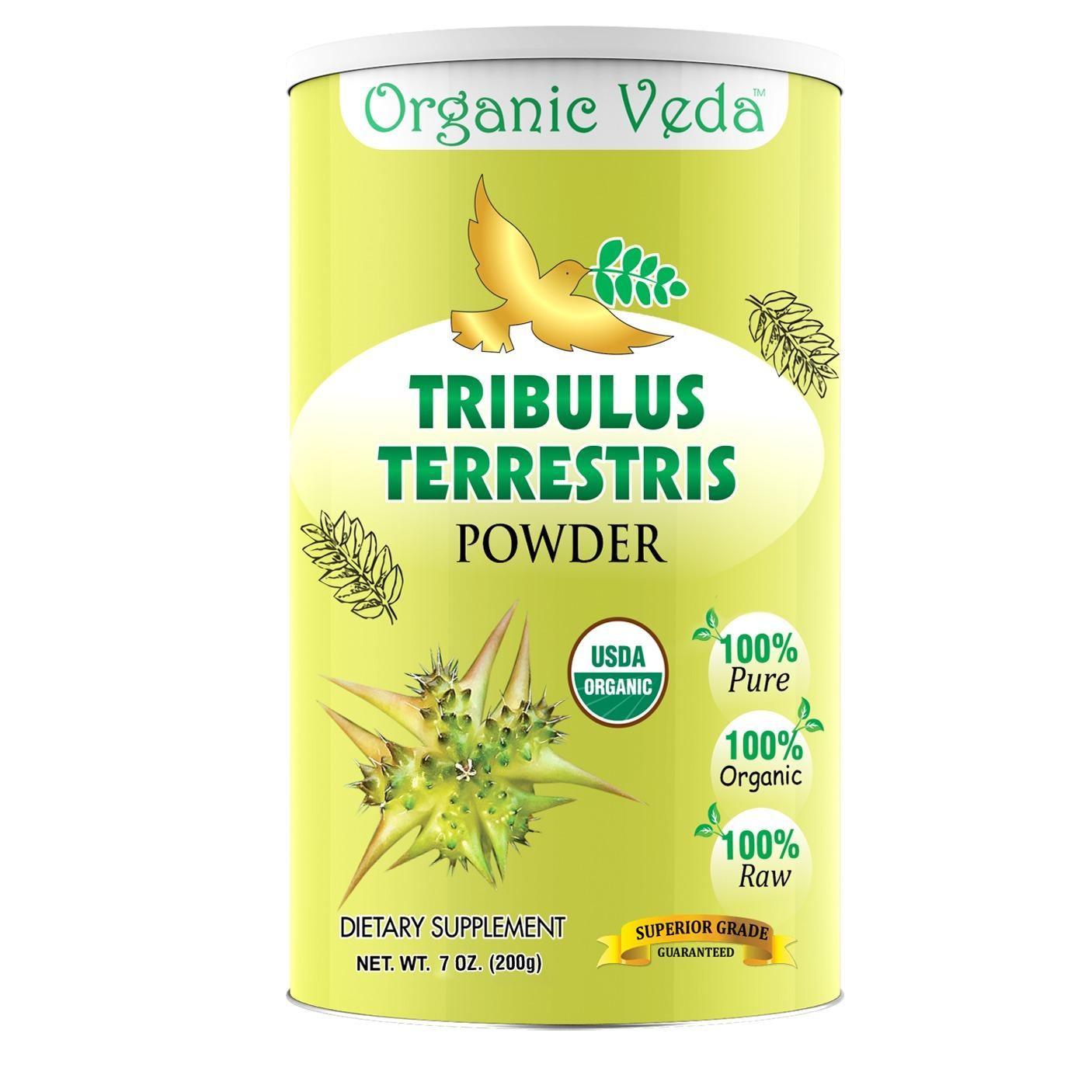 Organic Tribulus Terrestris Powder 200Grams 100 Pure And Natural Herbs Raw Organic Super Food Supplement Non Gmo Gluten Free Us Fda Registered Facility ★ Usda Certified Organic ★ All Natural For Sale Online
