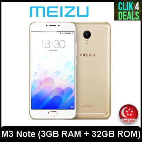 Sale Meizu M3 Note 3Gb Ram 32Gb Rom
