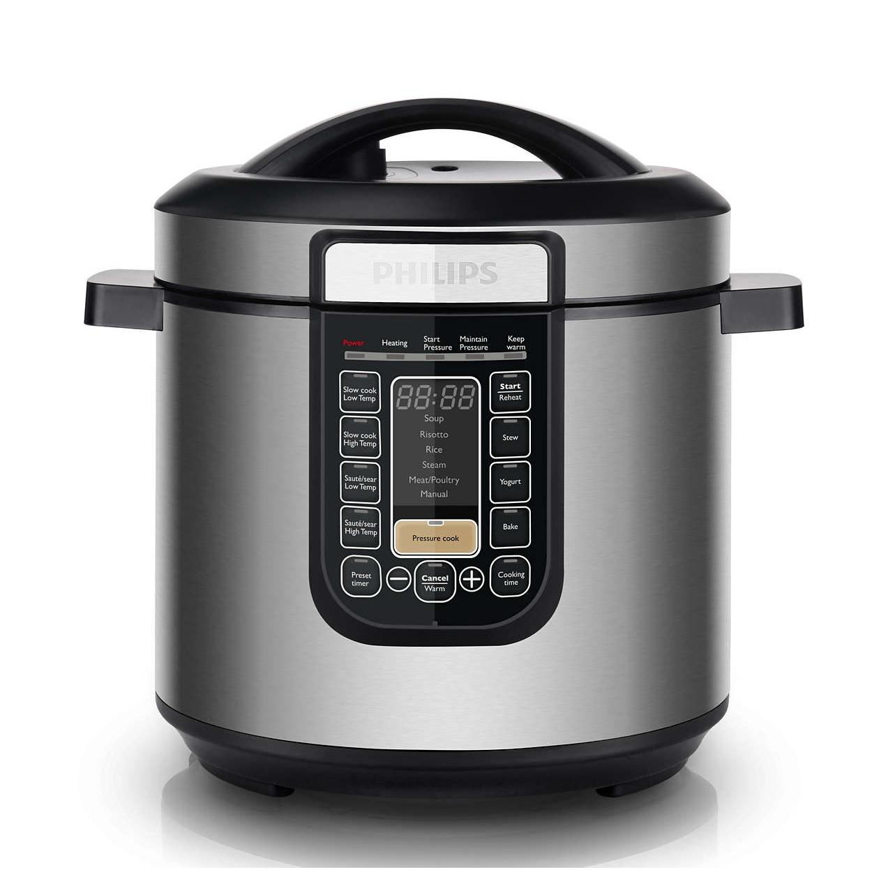 Best Buy Philips Hd2137 62 Viva Collection All In One Cooker