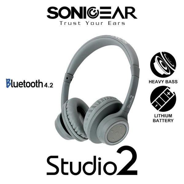 Sonicgear stereo Bluetooth headset Studio 2 Singapore