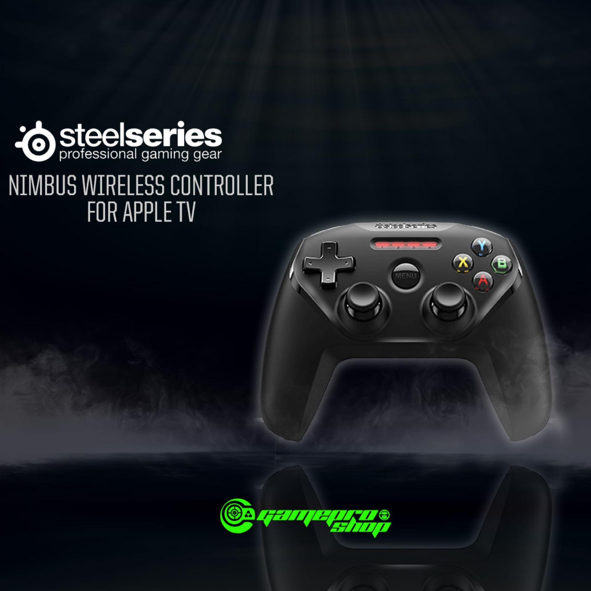 Shop For Steelseries 69070 Nimbus Wireless Controller Apple Tv Gss Promo