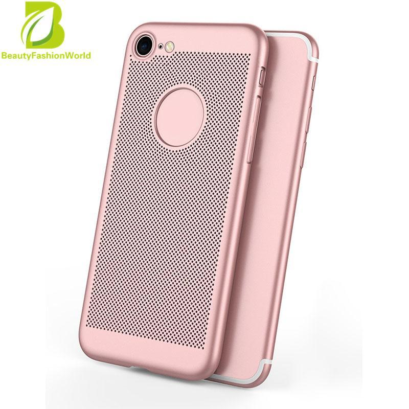 Luxury Breathable Ultra-Thin Anti Fingerprint Cover Skin Protector For iPhone 7 - intl