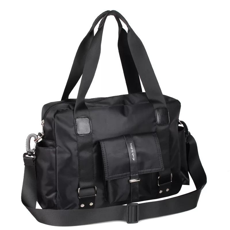 Promo Briefcase Messenger Bag Black Color