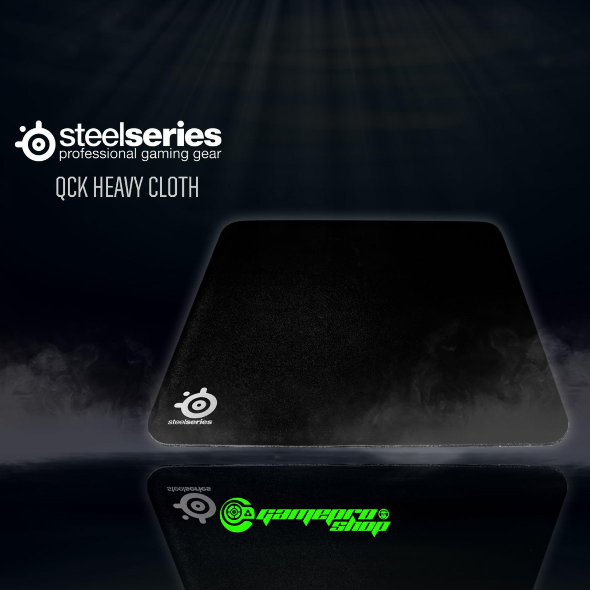 SteelSeries Qck Heavy Cloth Gaming Mouse Pad *GSS PROMO*