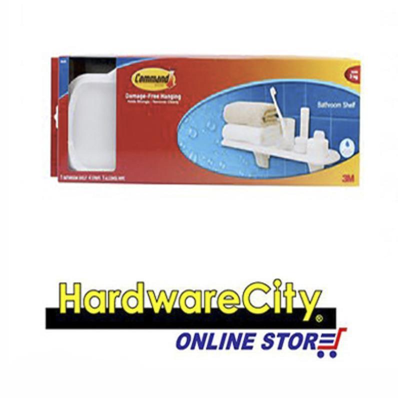 Buy 3M Command White Plate Shelf 4 Strips 1 Alcohol Swipe 17628B 17628B