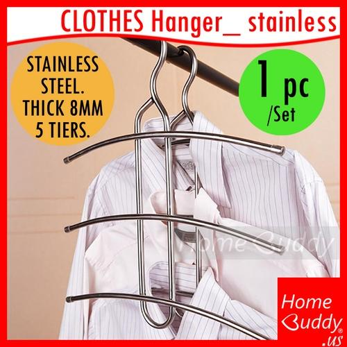 Cheap Stainless Steel Clothes Hanger Garment Hanger Ready Stocks Sg Reach You 2 To 4 Work Days Homebuddy Acev Pacific