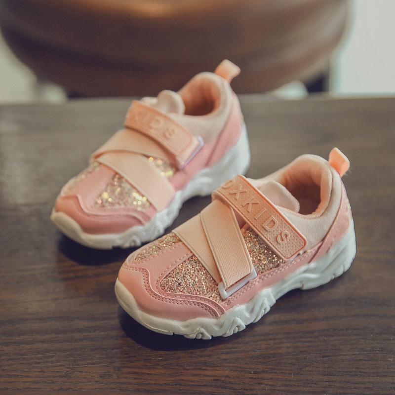 2017 musim semi dan musim gugur model baru Gaya Korea anak-anak Sepatu Anti Selip