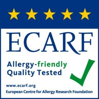 Certified or tested by ECARF and Airmid *