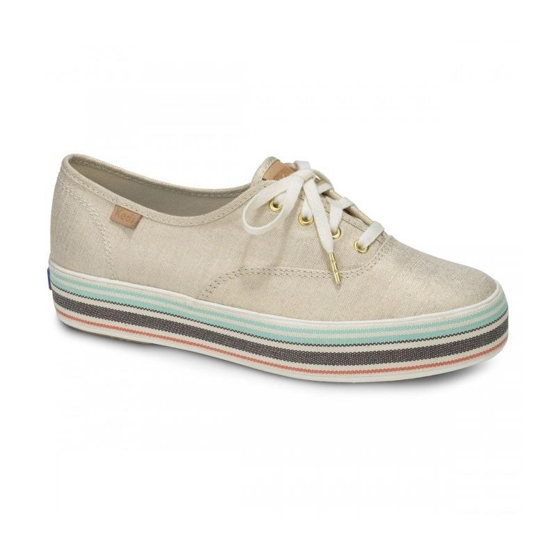 New Keds Triple Stripe Foxing Sneaker Wf58042