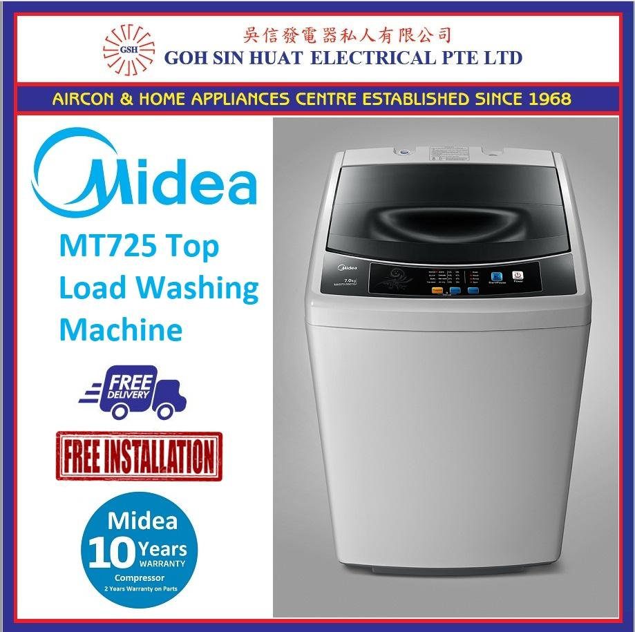 Price New Model Midea Mt725 Top Load Washing Machine 7Kg On Singapore