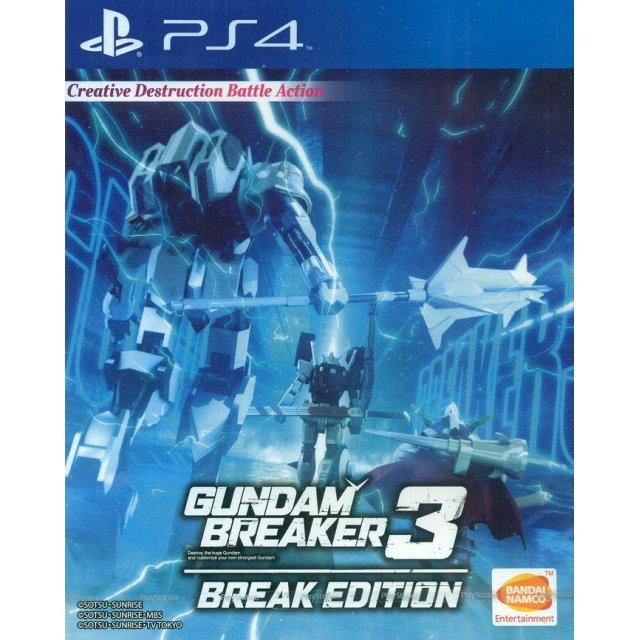 The Cheapest Ps4 Gundam Breaker 3 Break Edition As R3 Plas 05270 Online